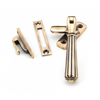 Polished Bronze Locking Hinton Fastener