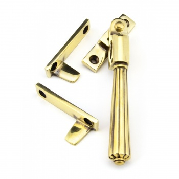 Aged Brass Night-vent Locking Hinton Fastener