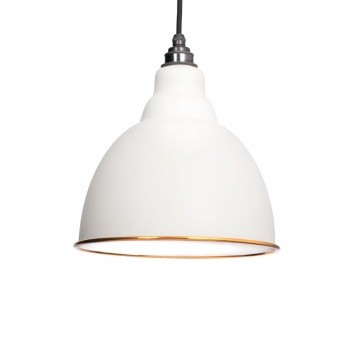 Oatmeal & White Interior Brindley Pendant