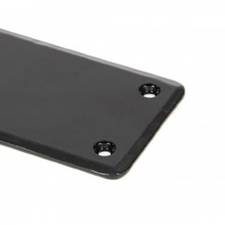 Black Fingerplate - Large