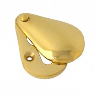 Polished Brass Plain Escutcheon