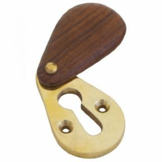 Rosewood Plain Escutcheon