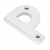Satin Chrome Letter 'P'