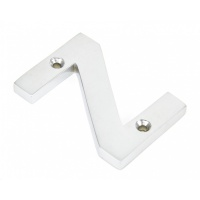 Satin Chrome Letter 'Z'