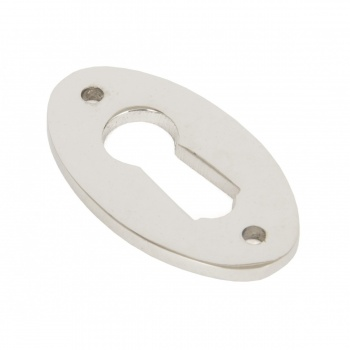 Polished Nickel Oval Escutcheon