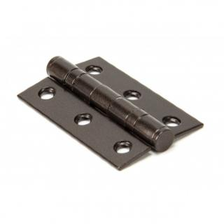 Aged Bronze 3'' Ball Bearing Butt Hinge (Pair)