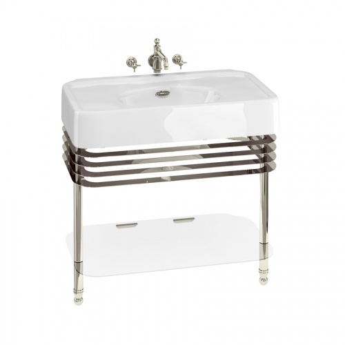 Arcade 900mm Basin with Overflow & Basin Stand