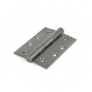 Pewter 4'' Ball Bearing Butt Hinge (Pair)