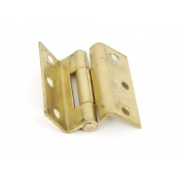 Self Coloured Brass 2.5'' Stormproof Hinges (Pair)