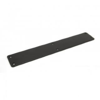 Black 400mm Plain Fingerplate
