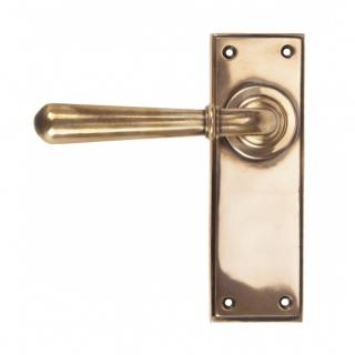 Polished Bronze Newbury Lever Latch Set