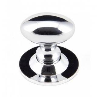 Polished Chrome 33mm Oval Cabinet Knob