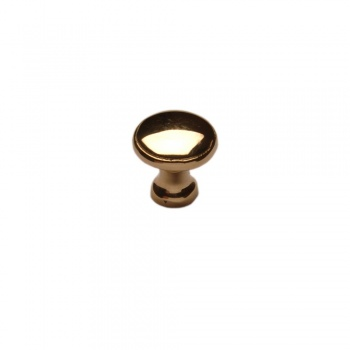 Cardea Brass Cabinet Knob - Bolt Fix