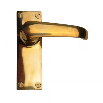 Cardea Brass Lever Latch Set