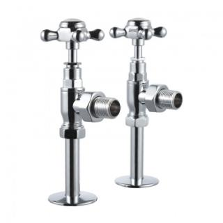 Burlington Angled Manual Radiator Valves
