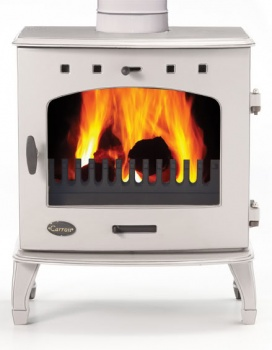 Carron Antiqued Finish Enamel 4.7kW DEFRA Smoke Exempt Multifuel Stove