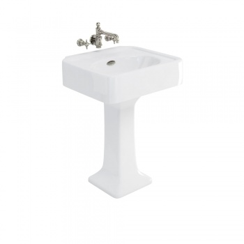 Arcade Bathrooms - 600mm Basin & Pedestal