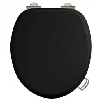 Arcade Bathrooms - Black Toilet Seat
