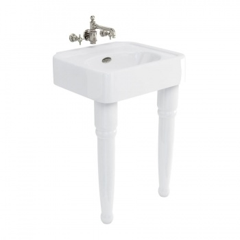 Arcade Bathrooms - 600mm Basin & Ceramic Legs