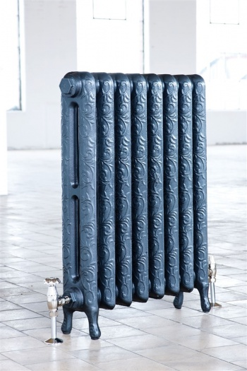 Art Nouveau Cast Iron Radiator