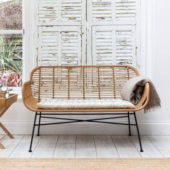 Hampstead Bench All-Weather Bambo