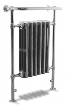 Broughton Heated Towel Rail Chrome