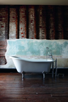 Burlington Harewood Slipper Bath with Luxury Legs