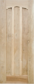 Solid Oak External Door - The Cardinal