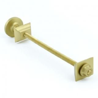 Cast Iron Radiator Luxury Wall Stay Bracket - Brushed Brass