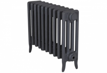 Victorian 4 Cast Iron Radiators 460mm - 10 Section