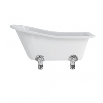 Burlington Buckingham Slipper Bath with Luxury Legs