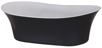 Cast Iron Freestanding Bateau Basin - Painted