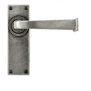 Finesse Allendale Lever on Latch Backplate
