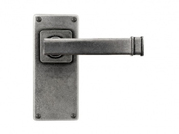 Finesse Lever on Latch Backplate