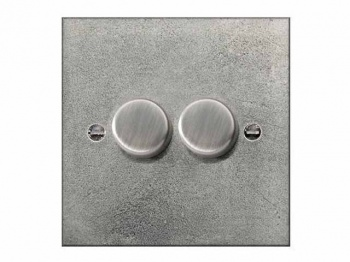 Finesse Double Dimmer Switch Coverplate