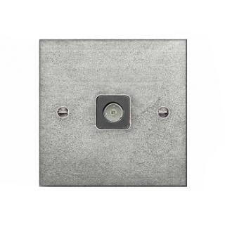 Finesse Single Aerial Socket Coverplate