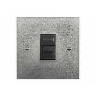 Finesse Single Telecom Socket Coverplate