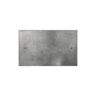 Finesse Double Blank Cover Plate