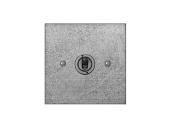 Finesse Single Toggle Switch Coverplate