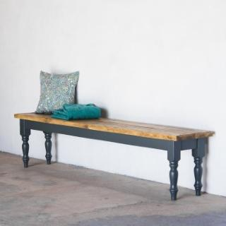 Farmhouse Bench - Turned Legs