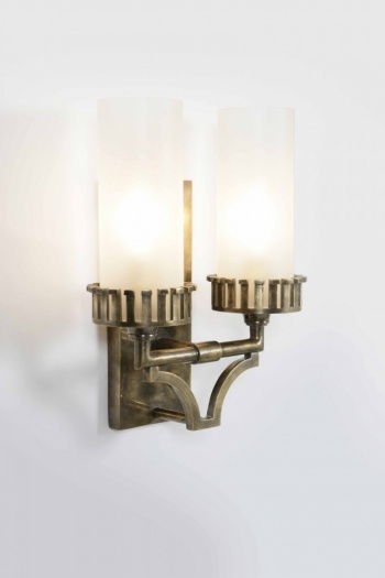 Highlander Twin Wall Light