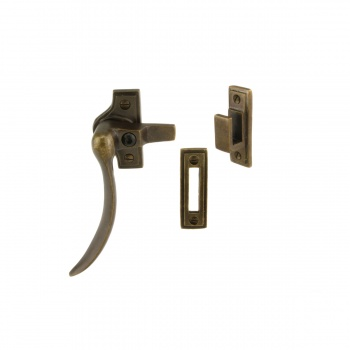Louis Fraser Curved Lockable Casement Fastener LF783