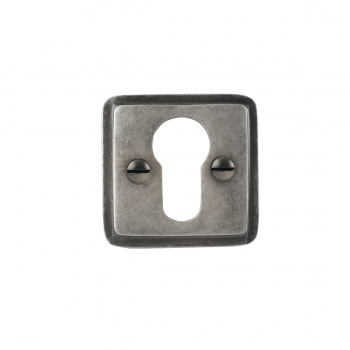 Louis Fraser Square Open Euro Escutcheon LF813