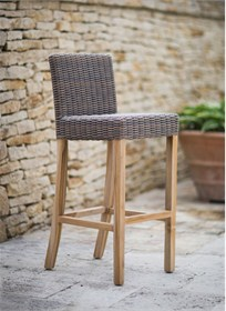Lymington Bar Stool in Rattan