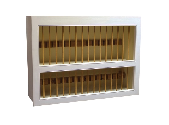 Fitted Kitchen Plate Rack (800)