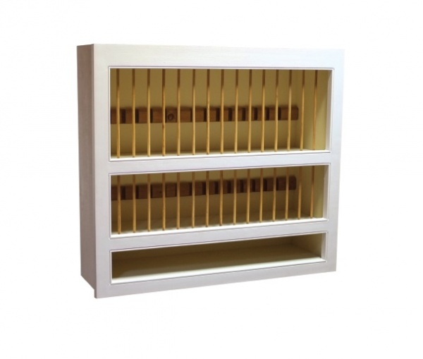 Fitted Kitchen Plate Rack Tall (890)