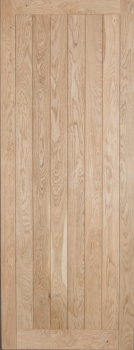 Solid Oak External Door - Mexicano