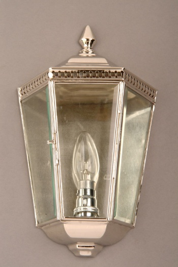 Nickel Chelsea Passage Lamp