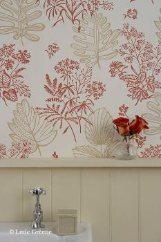 Little Greene 50s Line Papers Norcombe Wallpaper