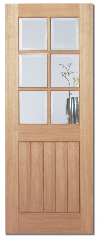 Traditional Oak Internal Doors - Cotswold Glazed